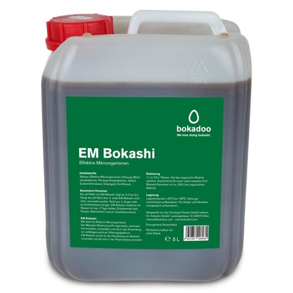 Aktion: EM-Bokashi 5 Liter